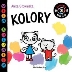 Akademia Kici Koci. Kolory Anita Głowińska