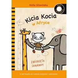 Rysuj z Kicią Kocią. Kicia Kocia w Afryce Anita Głowińska
