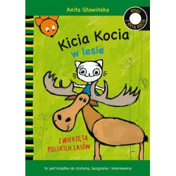 Rysuj z Kicią Kocią. Kicia Kocia w lesie Anita Głowińska