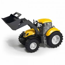 Traktor z łyżką żółty New Holland Adriatic