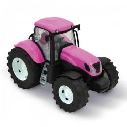 Zabawka Traktor różowy New Holland Adriatic