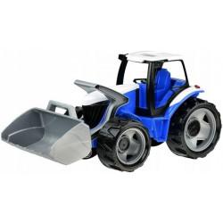 Traktor ze spychaczem niebieski GIGA TRUCKS LENA