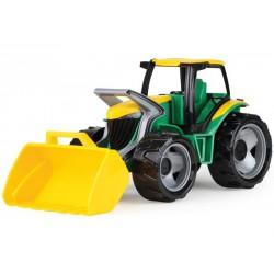 Traktor ze spychaczem zielony GIGA TRUCKS LENA