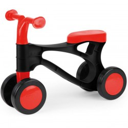 Pierwszy rowerek biegowy czarno-czerwony LENA