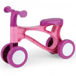 Pierwszy rowerek biegowy różowy LENA