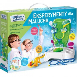 Eksperymenty Dla Malucha 4+ Clementoni