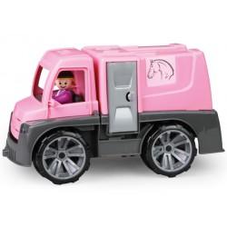Auto do przewozu koni TRUXX różowe LENA