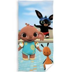 Ręcznik plażowy BING na basenie Carbotex