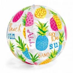 Dmuchana piłka plażowa ANANASY 51cm Intex