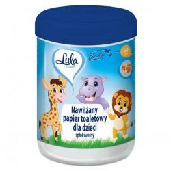 Nawilżany papier toaletowy dla dzieci LULA