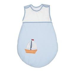 Śpiworek dla dziecka Marynarski Niebieski