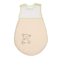 Śpiworek dla dziecka Małe Zoo Beżowy