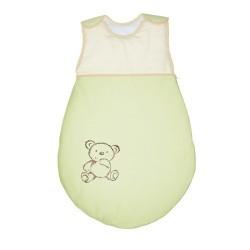 Śpiworek dla dziecka Małe Zoo Zielony