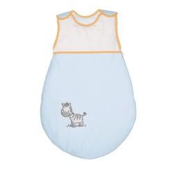 Śpiworek dla dziecka Zebra Niebieska