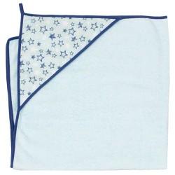 Ręcznik kąpielowy 100x100 Gwiazdki Turkusowe