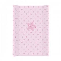 Przewijak na łóżeczko 50x70cm - Gwiazdki Różowe