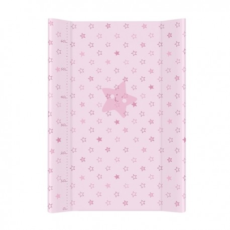 Przewijak na łóżeczko 50x70cm Gwiazdki Różowe Ceba