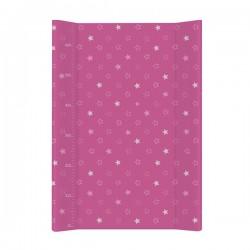 Przewijak na łóżeczko 50x70cm - Gwiazdki Ciemno-różowe