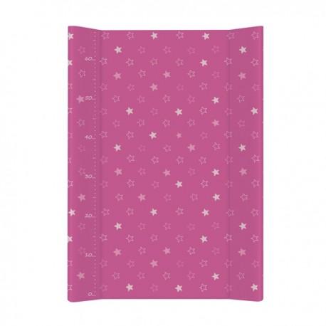 Przewijak na łóżeczko Gwiazdki Ciemno-różowe Ceba