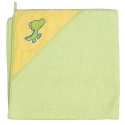 Ręcznik kąpielowy 100x100 Krokodyl Zielony
