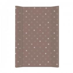 Przewijak na łóżeczko 50x70cm - Gwiazdki Brązowe