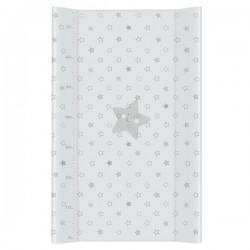 Przewijak na łóżeczko 50x80cm - Gwiazdki Szare