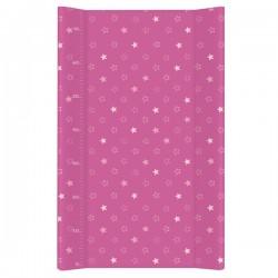 Przewijak na łóżeczko 50x80cm - Gwiazdki Ciemno-różowe