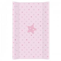 Przewijak na łóżeczko 50x80cm - Gwiazdki Różowe