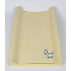 Pokrowiec na przewijak 50x80 Zebra Żółta