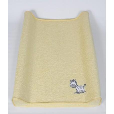 Pokrowiec na przewijak 50x80 Zebra Żółta Ceba