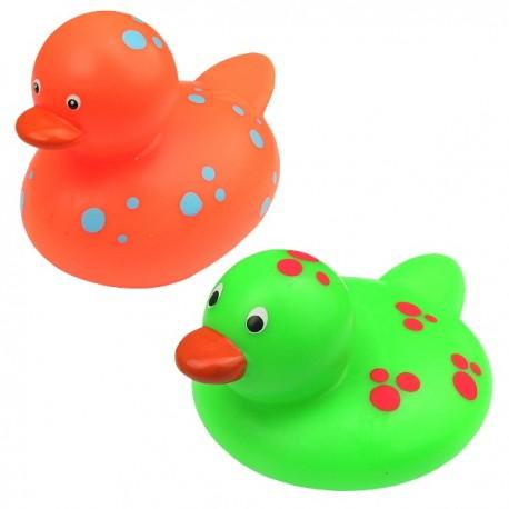 Zabawki do kąpieli Kaczki w kropki 2szt.