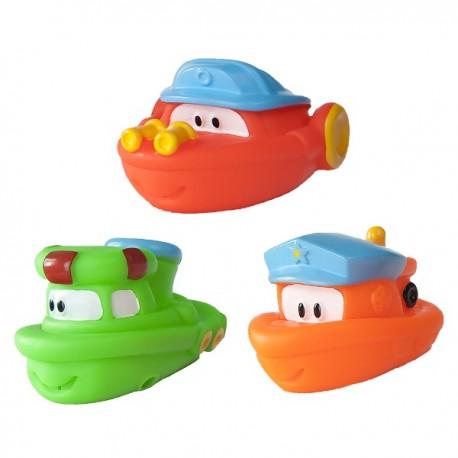 Zabawki do kąpieli Pływające Łódki 2szt.