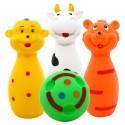 Zabawki edukacyjne Kręgle (2szt. + kula)