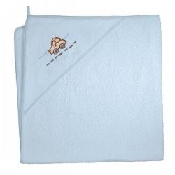 Ręcznik kąpielowy 100x100 In My Car Niebieski