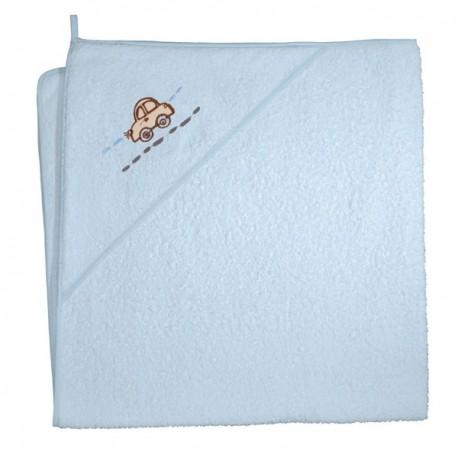 Ręcznik z kapturkiem IN MY CAR NIEBIESKI Ceba