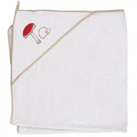 Ręcznik z kapturkiem MAGICZNY LAS Ceba
