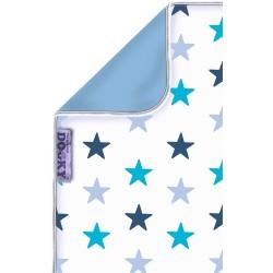 Dwustronny kocyk Dooky Blue Stars