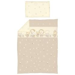 Pościel do łóżeczka 2-el. Kaczuszki Brązowe