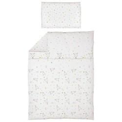 Pościel do łóżeczka 2-el. Dream Rozproszony Biały