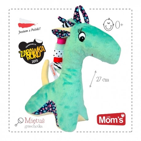 Przytulanka dla niemowląt żyrafka MIĘTUŚ Mom's Care