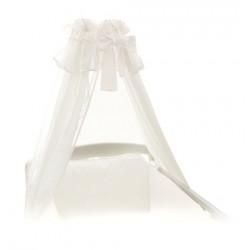 Baldachim - moskitiera - Biały