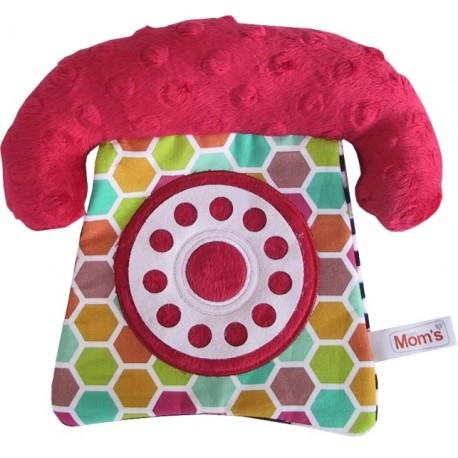 Zabawka dla niemowląt TELEFON Mom's Care