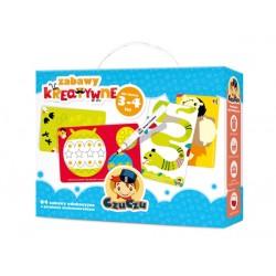 Zabawy kreatywne dla dzieci 3+ CZUCZU