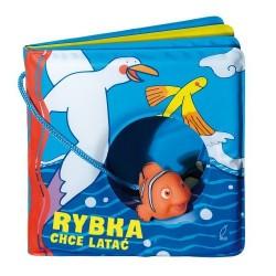 Książeczka Kąpielowa - Rybka chce latać