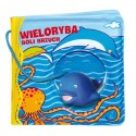 Książeczka Kąpielowa - Wieloryba boli brzuch