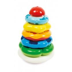 Kolorowa wieża, piramidka Clementoni