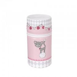 Termoopakowanie mini (szerokie) Kotki różowe