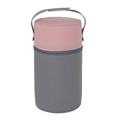 Termoopakowanie mini (szerokie) Różowo-szare