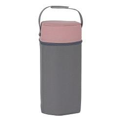 Termoopakowanie do butelek Różowo-szare