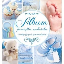 Album dziecka PAMIĄTKA MALUSZKA niebieski Wilga
